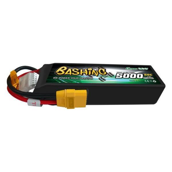 Gens Ace 5000mAh 14.8V 4S1P 50C Lipo Battery Pack with XT90 Plug