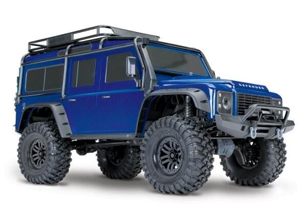 Traxxas TRX82056-4 TRX-4 LR Defender 4x4 metalicblau RTR 1/10 4WD