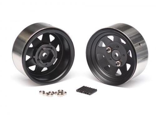 Team Raffee Co. 5 Lug 1.9 Wagon Steel Stamped Beadlock Wheels (2)